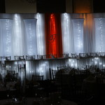 Head Table Lighted