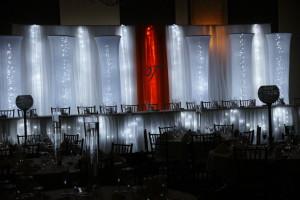 Head Table Lighted