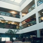 River Plaza Building's Atrium